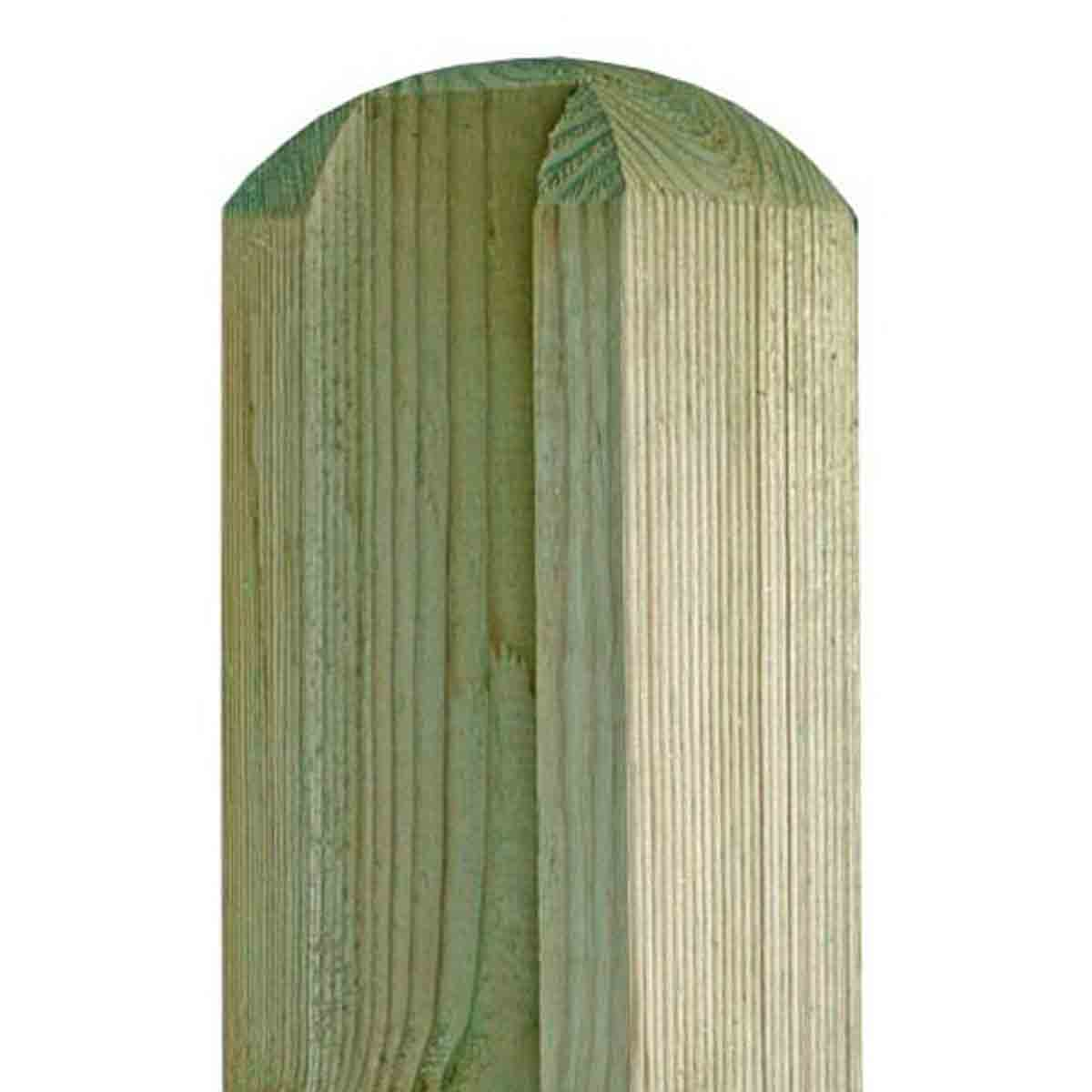 Fencing Supplies Suffolk Wooden Slotted Pin Grooved Post